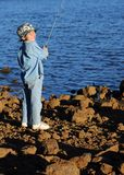 Fishing Boy 22 Royalty Free Stock Images