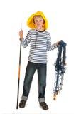Fishing boy Royalty Free Stock Photo