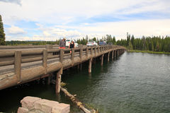 Fishing bridge,Yellowstone Royalty Free Stock Photos