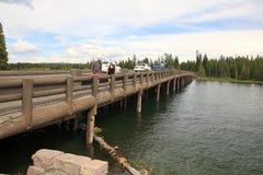 Fishing bridge,Yellowstone royalty free stock photos