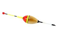 Fishing buoy. Bite indicator for fishing cut on white background Royalty Free Stock Photo