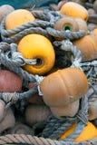 Fishing buoys Stock Images