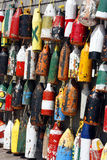 Fishing Buoys Stock Photo