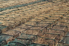 Fishing cage Stock Images