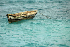Fishing canoe, Zanzibar Island Stock Photography