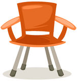 Fishing chair vector illustration