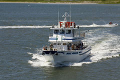 Fishing Charter in Avalon, New Jersey Stock Photo