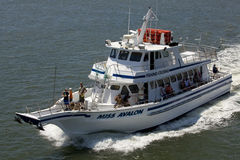 Fishing Charter in Avalon, New Jersey Royalty Free Stock Photos