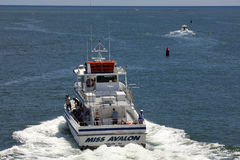 Fishing Charter in Avalon, New Jersey Stock Images