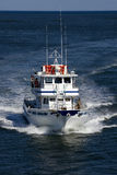 Fishing Charter in Avalon, New Jersey Stock Image