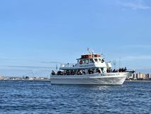 Fishing charter new york  nearby brooklyn activity royalty free stock photography
