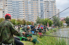 Fishing competition Royalty Free Stock Photo