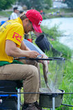 Fishing competition Stock Photography