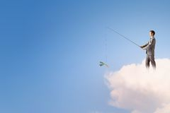 Fishing concept royalty free stock photos
