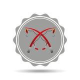Fishing concept design. Illustration eps10 graphic Royalty Free Stock Image