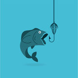 Fishing concept design. Illustration eps10 graphic Stock Photo