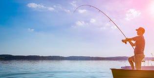 Fishing concepts. Royalty Free Stock Photos