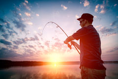 Fishing concepts. Royalty Free Stock Image