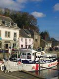Padstow Harbour royalty free stock photos