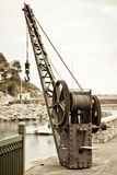 Fishing crane Stock Images