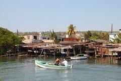 Fishing in Cuba Stock Photos