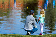 Fishing derby Royalty Free Stock Images
