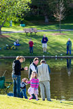 Fishing derby Royalty Free Stock Photography