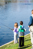 Fishing derby Stock Image