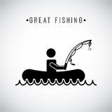 Fishing design Stock Image