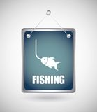 Fishing design Royalty Free Stock Photography
