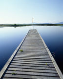 Fishing dock Stock Photography