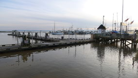 Fishing dock. City of richmond, british columbia canada stock photo