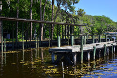 Fishing Dock Royalty Free Stock Photo