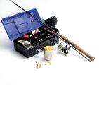 Fishing equipment Royalty Free Stock Photos