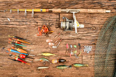 Free Fishing Equipment Stock Photography - 83476482
