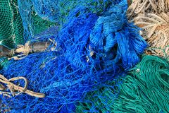 Fishing equipment, fish net Royalty Free Stock Image