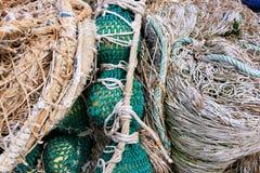 Fishing equipment, fish net Royalty Free Stock Photos
