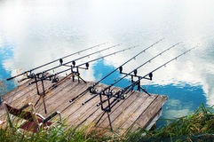 Fishing. Stock Photography