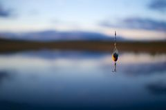 Fishing Failure Royalty Free Stock Photography
