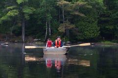 Fishing family Royalty Free Stock Photos