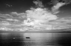 Fishing field of sea Stock Image