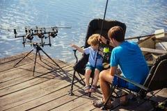Fishing fish concept royalty free stock photos