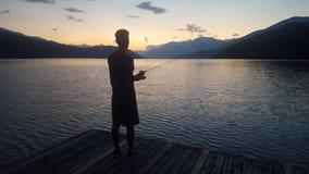Fishing royalty free stock photography