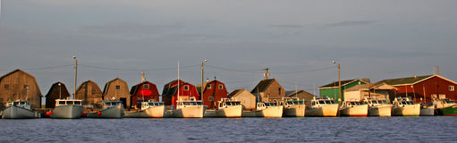 Fishing Fleet Royalty Free Stock Images