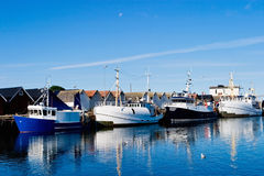 Fishing fleet Royalty Free Stock Photos