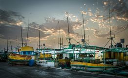 Fishing Fleet Royalty Free Stock Image