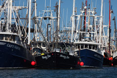 Fishing Fleet at Cape May, New Jersey Stock Photo