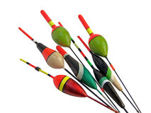 FISHING FLOATS Royalty Free Stock Images