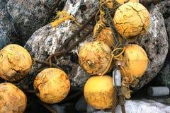 Fishing floats. Misawa japan aomori Stock Photo