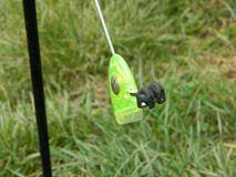 Fishing fluorescent gear Stock Image
